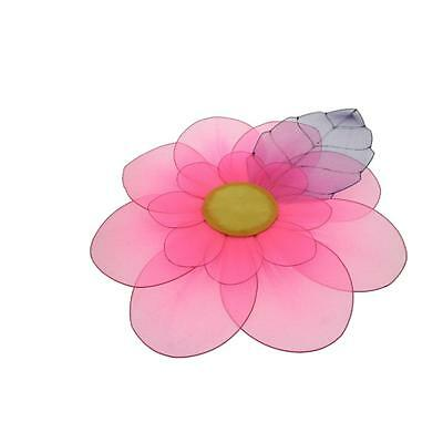Season's Direct 7169 Pink Mesh Flower Hanging Decorative Mobile BHFO