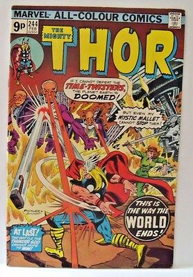 Marvel Comic Mighty Thor Vol 1 #244 1976