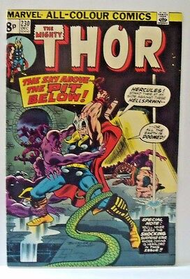 Marvel Comic Mighty Thor Vol 1 #230 1974