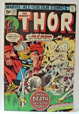 Marvel Comic Mighty Thor Vol 1 #241 1975