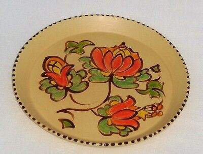 HONITON Art Pottery Devon Hand Painted DISH ~ EXCELLENT
