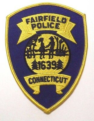 Fairfield Connecticut Police Patch Unused