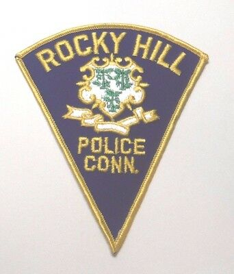 Rocky Hill Connecticut Police Patch Unused