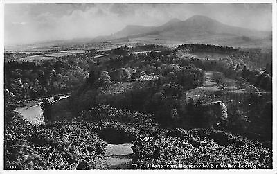 BR78801 real photo the eildons from bemersyde sir walter scotts view  scotland