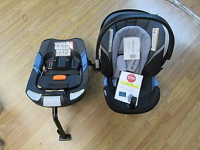 Cybex Aton 2 Infant Car Seat And Base M Carrycot Stroller Adapter Bumper Bar