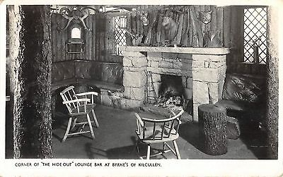 BR95685 real photo kilcullen cornr of the hide out lounge bar   ireland