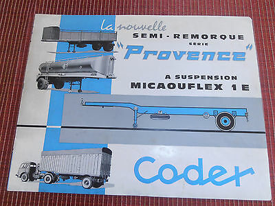 CATALOGUE CAMION REMORQUE CODER  ( ref 48 )