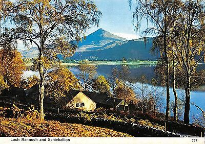 BR89444 loch rannoch and schiehallion  scotland
