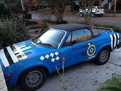 1980 Triumph TR7 Convertible - Original Owner