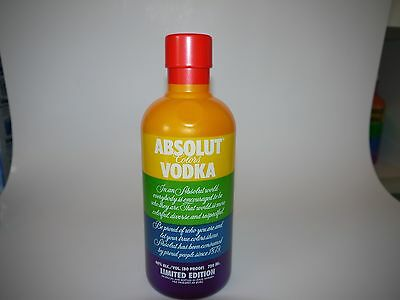 Absolut Vodka Colors Rainbow Limited Edition Case Hülle 750ml