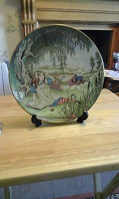Alice in wonderful  collectable  plate from THE FRANKLIN MINT