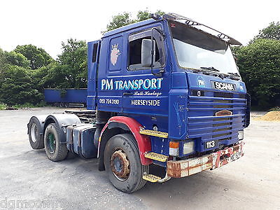 SCANIA 113 6x2 Rear Lift Tractor Unit - 10 Tyres & Steel suspension