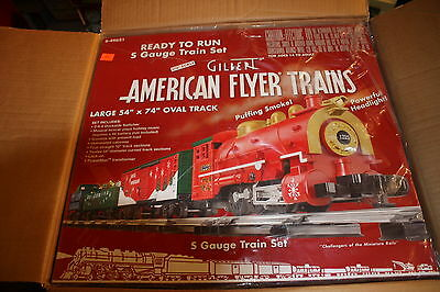 American Flyer S gauge Christmas set NIB sealed # 6-49621ready to run with track