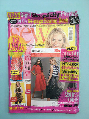 Sew Magazine - January 2017 Issue 93 With Free Pattern *NEW* - RRP £5.99