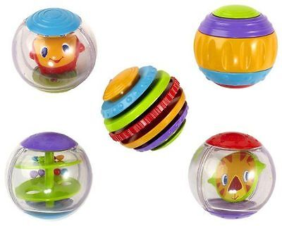 BRIGHT STARTS - Shake & Spin Activity Balls - [9079] NEUF