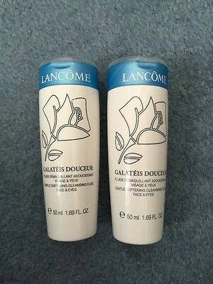 Galateis Douceur Gentle Softening Cleansing Fluid Face & Eyes Travel 2 X 50ml