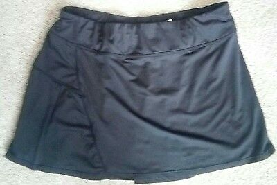 Tennis/athletic skirt youth Large black