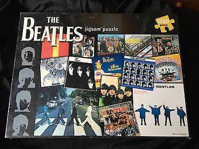 Lovey NEW & SEALED Beatles 1000 Piece Puzzle