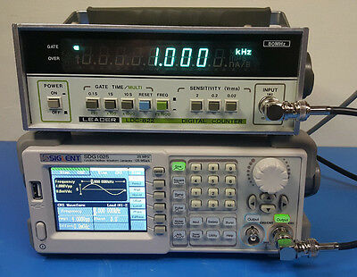 Leader LDC-822 Digital Counter 80MHz TESTED