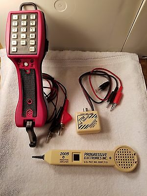 Telephone Test Set Model 390 200B Inductive Amplifier 77M The Tracer