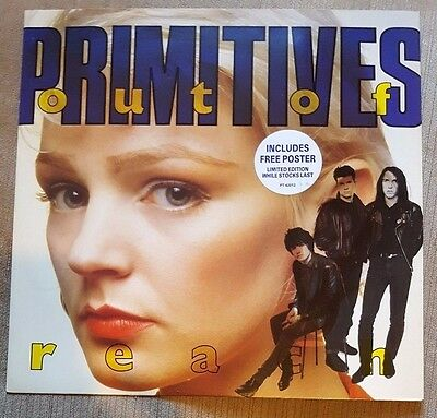 """THE PRIMITIVES - Out Of Reach ~12"""" Vinyl Single~ *FREE Poster*"""