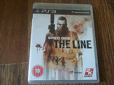 Spec Ops The Line Ps3 - Great Condition