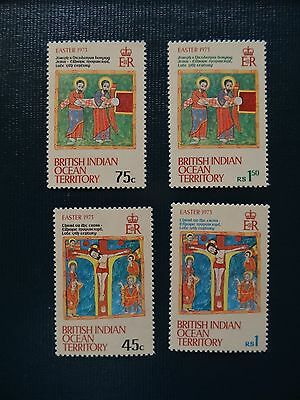 British Indian Ocean Territory  1973  SG 47-50  Easter  Set  MNH