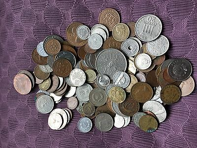 800 Grams Of Coins. Various Countries.  1