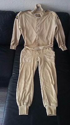 Ancienne combinaison pilote rallye OMP Made in Italy Genova Norme 1986 Taille M