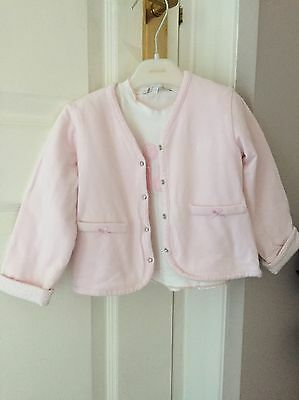 Baby Girls Designer Top And Jacket GYMP 12-18 Months