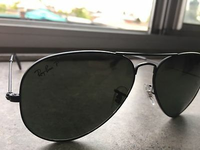 Ray Ban RB3025 Aviator CLASSIC POLARIZED SUNGLASSES