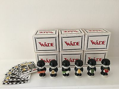 wade homepride Mini Fred's (set of six ) Ltd Edition Of 500 Very Rare Boxed