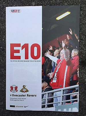 LEYTON ORIENT v DONCASTER ROVERS 16/17