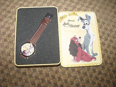 Disney Lady And The Tramp 50Th Anniversary Watch In Tin Never Worn