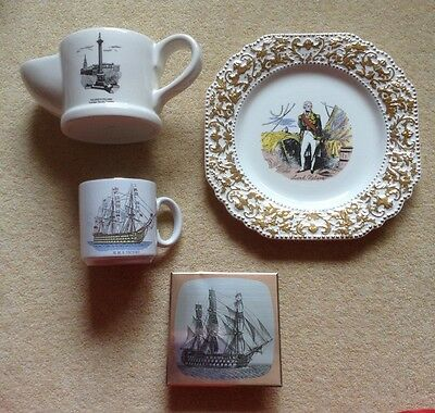 Lord Nelson & The Victory Ship collectable  items