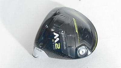 NEW! Left-Handed TAYLOR MADE 2017 M2 D-TYPE 10.5* DRIVER (Head Only)