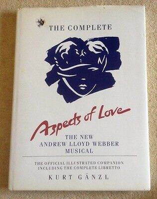 The Complete Aspects of Love Book  Michael Ball, Ann Crumb, Kevin Colson