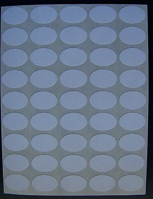 "250 All Purpose Removable Adhesive Price Labels Tags Stickers Oval ½""x3/4"""