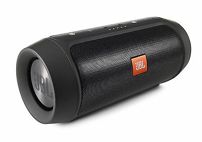 JBL Charge 2+ Portable Sprayproof Wireless Bluetooth Speaker Rechargeable Black