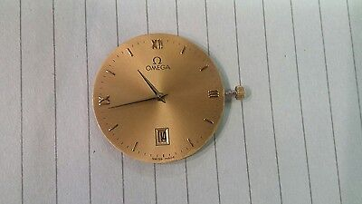 Swiss ETA 210011 Movement, For Parts Or Repair, Includes Omega Dial