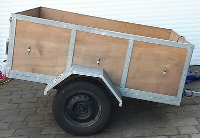 Heavy Duty Genral Purpose/ Camping 6x4 Trailer .