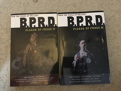 B.P.R.D. Plague Of Frogs Volumes 1 And 2 Hardcover HC Lot One Two