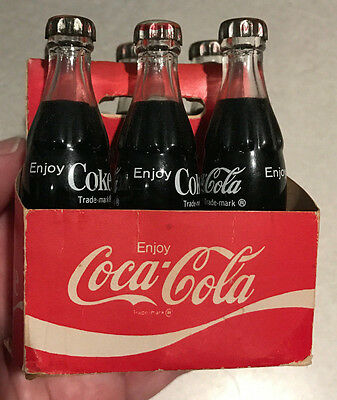 Miniature Coca - Cola Bottles w/ Carton