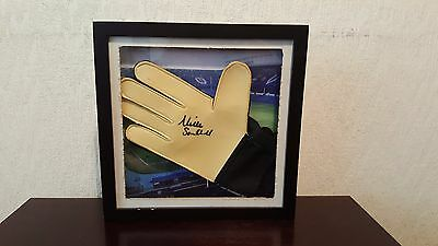 Neville Southall Mounted signed Goalkeeper Glove