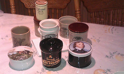 Joblot 8 Jars Harrods Oliver Cromwell Cows Denby Pearsons Hudsons  Cinque Rye
