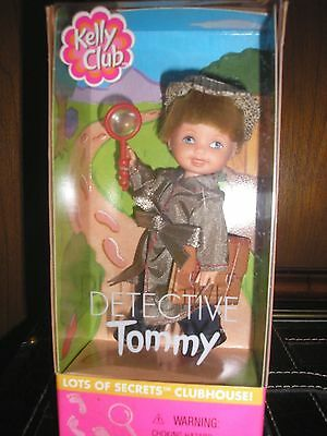 NIB Kelly Club Detective Tommy Doll Barbie Ken's Little Brother Family & Friends