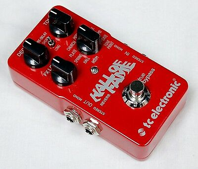 TC Electronic Hall Of Fame Reverb TonePrint Series Guitar Effects Pedal! #41842