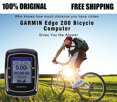 Garmin Edge 200 Cycling Computer Bike Trainer GPS Handheld Receiver-Wireless