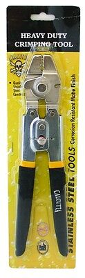 New Calcutta Fishing Crimping Tool 4 Position w/Side Cutter Stainless CCT-SS