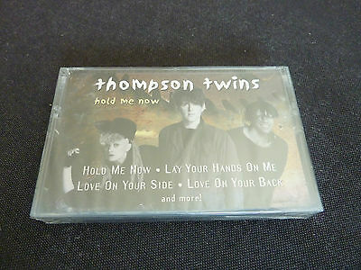 Thompson Twins Hold Me Now Rare New Sealed Cassette Tape!